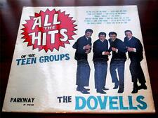 The Dovells    All The Hits Of The Teen Groups  1962  Parkway P7010   R & R   VG