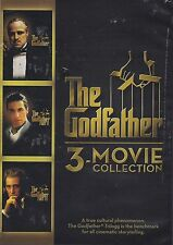 The Godfather 3-movie Collection( DVD 2014) Brand new