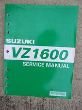 2003 Suzuki VZ1600 Motorcycle Service Manual Inspection Overhaul Engine Frame  S