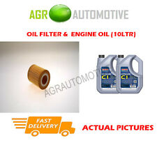 DIESEL OIL FILTER + C1 5W30 OIL FOR LAND ROVER DISCOVERY 3.0 211 BHP 2009-