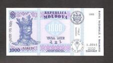 Moldova Set 1, 5,10, 20,200, 500, 1000 Lei 1992-1999 UNC