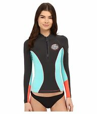 Rip Curl G Bomb 1 mm Long Sleevel Front Zip Jacket Wetsuit, Size 10 (120-140lb)