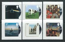 GREAT BRITAIN 2016 MUSIC GIANTS - PINK FLOYD SET 6 UNMOUNTED MINT, MNH