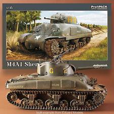 EDUARD 1/35 M4A1 SHERMAN PROFIPAK KIT