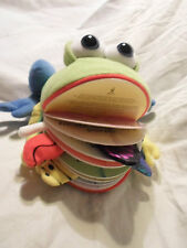 "11"" Dragonfly Design Baby Activity Gym Bullfrog Plush Soft Toy Stuffed Animal"