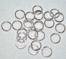 10mm 16G Closed Jump Rings .925 Sterling Silver Jewlery Findings Gauge GA 10pk