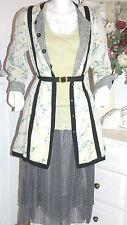 Noa Noa   Skirt  Chiffon Rock Primrose Elderberry size: S  Neu