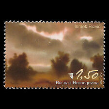 Bosnia 2007 - Painting by Ismet Rizvic Art - Sc 593 MNH