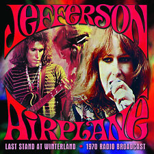 JEFFERSON AIRPLANE New Sealed 2016 UNRELEASED LIVE 1970 CONCERT CD