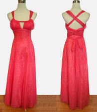 New MORGAN & CO $150 Coral Homecoming Evening Party Maxi Dress Size 3