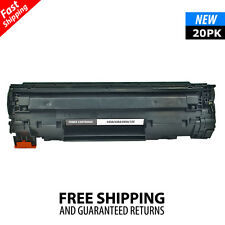 20PK Compatible Toner Cartridge For HP CB435A 35A Laserjet P1006 P1005 P1009