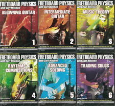 FRETBOARD PHYSICS  Beginner, Intermediate Guitar, Learn Solos Tricks, 6 DVD Set