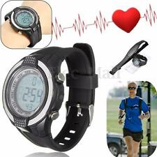 Wireless Heart Rate Monitor Sport Fitness Waterproof Watch Wristwatch Chest Belt