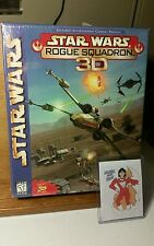 STARWARS ROGUE SQUADRON 3D PC GAME,  NEW, FACTORY SEALED,  FREE GIFT