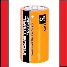 3 x Duracell C Size Industrial Procell Alkaline Batteries (LR14 MN1400 BABY)
