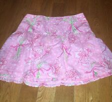 Lilly Pulitzer Pink Skirt 4 Floral