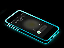 PC+TPU Incoming Call LED Blink Transparent Back Case Cover for iPhone 5/6/6 Plus