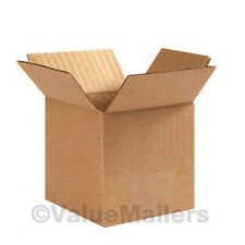 100 Boxes 50 each 4x4x4, 6x6x6 Shipping Packing Mailing Moving Corrugated Carton
