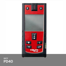 Hilti PD40 PD-I Laser Range Meter Distance Pulse Power 200m IP65 +/-1.0mm FedEx