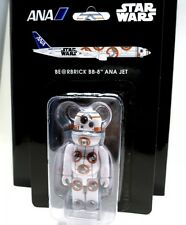 Medicom 100% Bearbrick Star Wars Be@rbrick BB-8 ANA JET Figure Toy Japan 2016