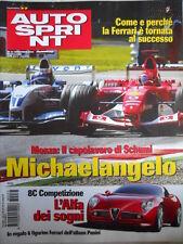 Autosprint n°37 2003 Alfa Romeo Alfa 8C comptezione auto dei sogni  [P21]