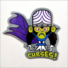 "Powerpuff Girls Curses! Mojo Jojo Vinyl Sticker Decal OFFICIAL LICENSED 4"" Tall"
