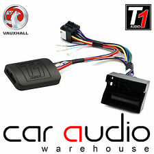 T1-VX2 Vauxhall Astra Steering Wheel Stalk Interface Adaptor FREE PATCH LEAD