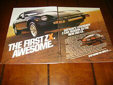 1979 DATSUN 280ZX   ***ORIGINAL 2 PAGE AD*** AWESOME