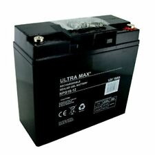 Lawn Mower GEL Battery Ultramax 12V 18AH (Replace 17AH 19AH 20AH 21AH 22AH)