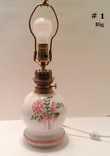 Pierre Deux Lamp Pink Rose Ceramic French Country Boudoir Petite Signed 25698 #1