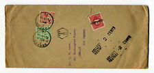Great Britain - 1926 Cover to US - Perfins, Postage Due