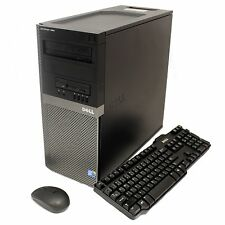Dell OptiPlex 960 Tower C2D 3.0GHz 8GB 1TB HD DVD-RW 5.1 Channel Audio Win 10