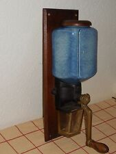 VINTAGE French WALL COFFEE GRINDER MILL 1930's - AS FRANCE