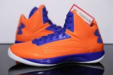 Under Armour Mens UA TB Micro G Torch Knicks Orange Blue Rare 1237255 135 SZ 12