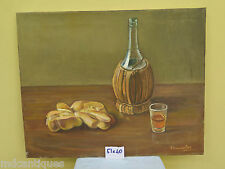 QUADRO ANTICO DIPINTO OLIO SU TAVOLA NATURA MORTA ANTIQUE PAINTING STILL LIFE
