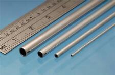 Albion Alloys Aluminium Micro Tube 0.5 mm OD x 0.3 mm ID x 0.1mm Wall Pack of 3
