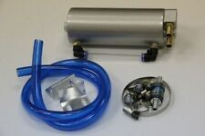 Oil Catch Tank Can Ölabscheider Tuning Silber Filterung Öldämpfe PCV NEU Öl