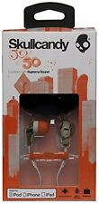 Skullcandy 50/50 In-Ear Buds Stereo Headphones w/Mic Headset Camo/Orange New X18
