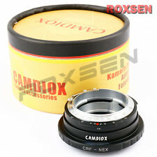 Camdiox Contax Rangefinder CRF RF lens to Sony E mount adapter NEX-7 5T A7 A6000
