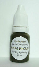 10ml-scn-front brown-from the special care nursery air dry peintures gamme