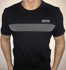 Hugo Boss BOSS 2016 Mens t-shirt Top Green Label BNWT New Black size XL