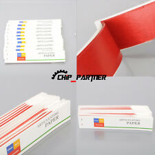 10 books Dental Articulating Paper Red Thin Strips Red Dental Supplies Materials