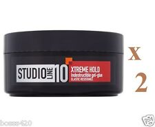 2 x Loreal Studio Extreme Indestructible Gel Glue Elastic Resistance 150ml Each