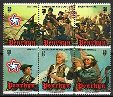 Cook Islands / Penrhyn - 1976 Bicentenary USA - Mi. 73-78 MNH