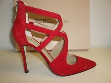 BCBG BCBGeneration Size 8 M Torpido Red Suede Pumps Heels New Womens Shoes