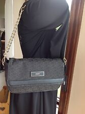 DKNY signature with gold chain shoulder bag