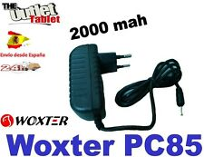 "CARGADOR PARED PARA TABLET WOXTER PC85 8"" 2000 MAH wall charger 8"" PULGADAS"