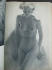 NUS (NAKED) , EROTIC ART PHOTOS MAGAZINE PAPERBACK, 40pp, PARIS, 40's, CAFEB 821