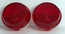Replacement Turn Signal Lenses (Red) for Honda Cruisers - Also Kawasaki Vulcan