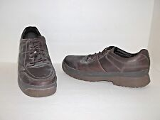 Dakota Men's STSP Lace-Up Casual Steel Toe Casual Work Shoe Brown Size 13 M